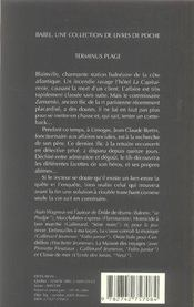 Terminus plage - 4ème de couverture - Format classique