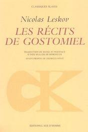 Recits De Gostomiel (Les) - Intérieur - Format classique