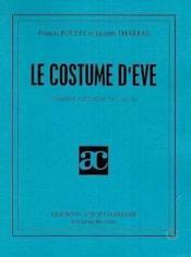 Le costume d'eve - Couverture - Format classique
