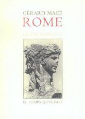 Rome Ou Le Firmament - Intérieur - Format classique