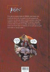 Krän le barbare t.1 ; les runes de Gartagueul - 4ème de couverture - Format classique