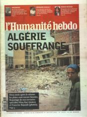 Humanite Hebdo (L') N°18334 du 26/07/2003 - Couverture - Format classique