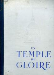 Un Temple De Gloire. Tome 3. - Couverture - Format classique