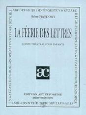 La feerie des lettres - Couverture - Format classique