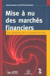 Mise a nu des marches financiers - Intérieur - Format classique