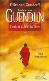 Guendun l'enfant oublie du tibet - Couverture - Format classique