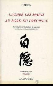 Orategama 2 Lacher Les Mains Au Bord Du Precipice - Couverture - Format classique