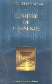 Lumiere De L'Absence - Intérieur - Format classique