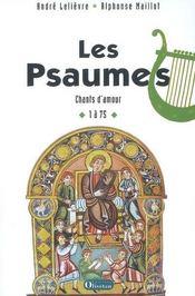 Les Psaumes T.1 - Ps 1 A 75 - Intérieur - Format classique