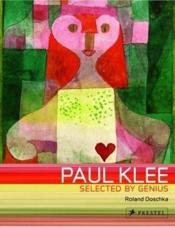 Paul Klee Selected By Genius (Art Flexi) /Anglais - Couverture - Format classique