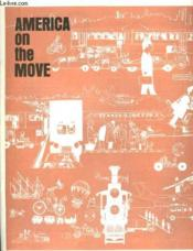 America On The Move - Couverture - Format classique