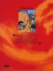 Le lièvre de Mars t.6 - 4ème de couverture - Format classique