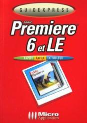 Guidexpress Adobe Premiere 6 Et Le - Couverture - Format classique