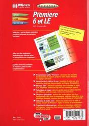 Guidexpress Adobe Premiere 6 Et Le - 4ème de couverture - Format classique