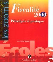 Zoom'S Fiscalite Pratique 2000 - Intérieur - Format classique
