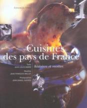 Cuisines Des Pays De France - Couverture - Format classique