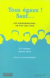 Tous égaux, sauf... les discriminations, un état des lieux - Intérieur - Format classique