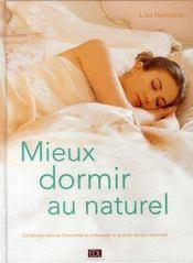 Mieux dormir au naturel - Intérieur - Format classique
