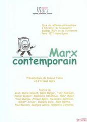 Marx Contemporain - Intérieur - Format classique