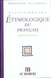Dictionnaire Etymologique Du Francais - Intérieur - Format classique