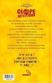 Cloppe Attitude - 4ème de couverture - Format classique