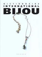 Dictionnaire international du bijou - Intérieur - Format classique