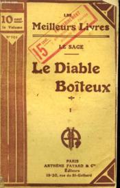 Le Diable Boiteux. Tome 1. Collection : Les Meilleurs Livres N° 101. - Couverture - Format classique