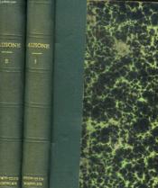 Oeuvres En Vers Et En Prose. Traduction Nouvelle De Max Jasinski. En 2 Tomes. - Couverture - Format classique