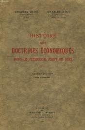 HISTOIRES DES DOCTRINES ECONOMIQUES DEPUIS LES PHYSIOCRATES JUSQU'A NOS JOURS. 6e EDITION. - Couverture - Format classique