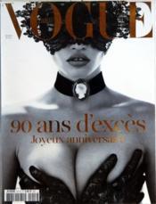 Vogue Paris N°911 du 01/10/2010 - Couverture - Format classique