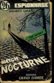 Match En Nocturne - N°26 - Couverture - Format classique
