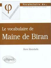 Maine De Biran - Intérieur - Format classique