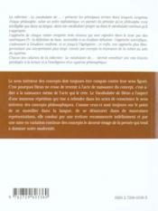Maine De Biran - 4ème de couverture - Format classique