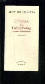 L'homme du Luxembourg - Couverture - Format classique