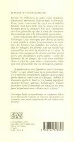 L'ombre d'imana ; voyages jusqu'au bout du rwanda - 4ème de couverture - Format classique