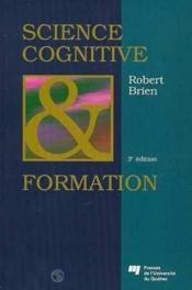 Science Cognitive Et Formation - Couverture - Format classique