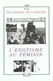 L'Exotisme Au Feminin - Intérieur - Format classique