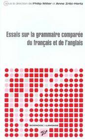 Essais de grammaire comparée du français et de l'anglais - Intérieur - Format classique