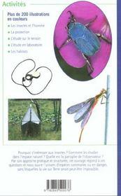 Observer Les Insectes - 4ème de couverture - Format classique