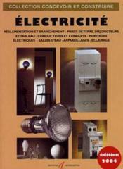 Electricite (Branchements, Prises De Terre, Disjoncteurs, Monta - Couverture - Format classique