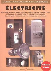 Electricite (Branchements, Prises De Terre, Disjoncteurs, Monta - Intérieur - Format classique