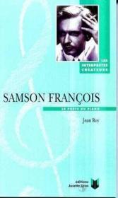 Samson francois - Couverture - Format classique