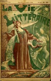 Les Jarretieres De Mon Cure. 2eme Partie Et Fin. La Vie Litteraire. - Couverture - Format classique