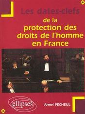 Les Dates-Clefs De La Protection Des Droits De L'Homme En France - Intérieur - Format classique