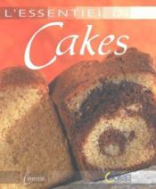 L'essentiel des cakes - Couverture - Format classique
