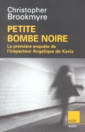 Petite bombe noire - Intérieur - Format classique