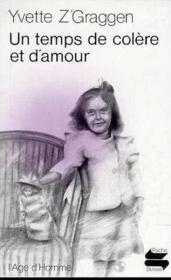 Un Temps De Colere Et D'Amour Ps68 - Couverture - Format classique