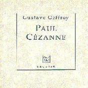 Paul Cezanne - Couverture - Format classique