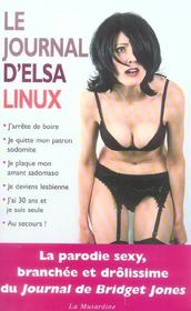 Le Journal D'Elsa Linux - Intérieur - Format classique