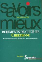 Rudiments De Culture Chretienne - Intérieur - Format classique